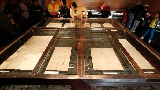 Is this similar to the TPPA? The original Treaty of Waitangi document is on display at The National Archives.