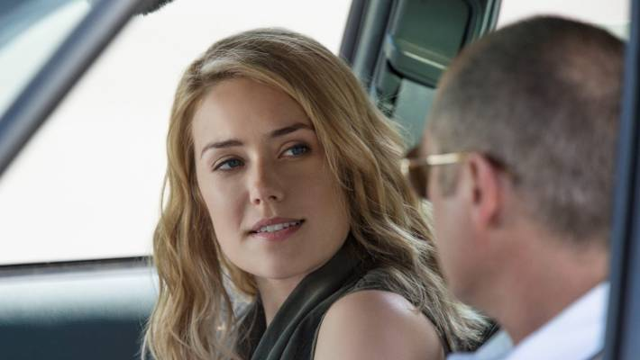 megan boone blonde