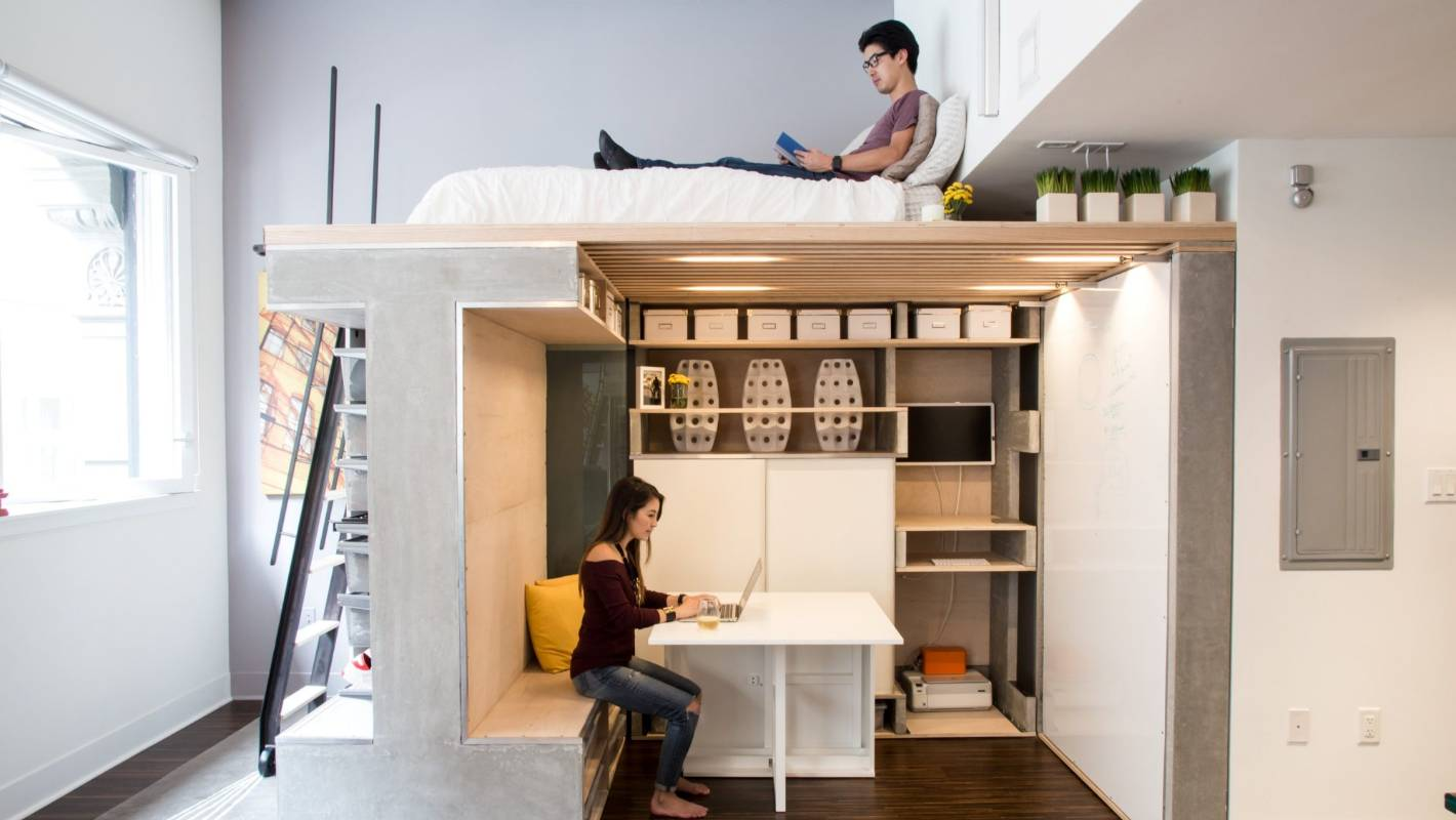 San Francisco Loft Fit Out Makes The Most Of A Very Small