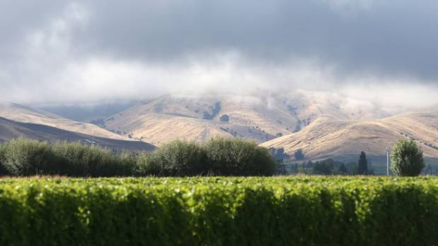 Dark, rain clouds above the Wither Hills, which experienced much needed relief from two major rainfall events in January.