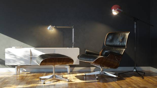 Furniture Classics, Such As The Eames Lounge Chair, Can Provide A Strong  Design Statement