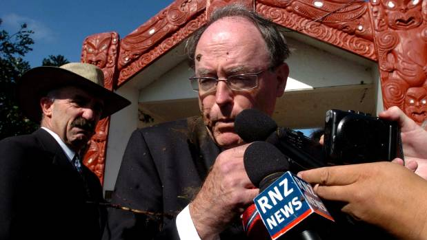One of my fondest memories of Waitangi Day was when Don Brash got nailed in the face with mud.