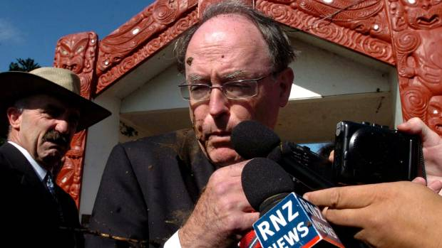 Throwing mud at politicians isn't new - especially during Waitangi Day celebrations. Then National leader Don Brash ...