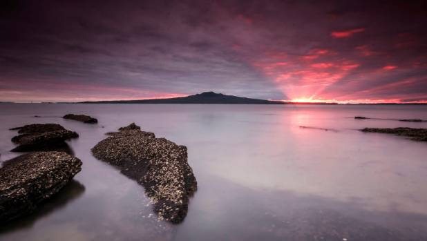 Rangitoto Island is Auckland's largest and youngest volcano.