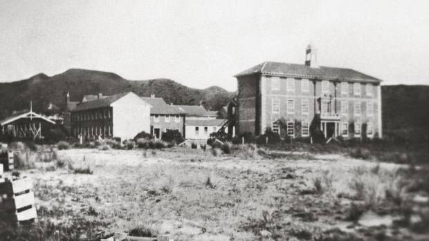 Scots College in the early 1920s. The main building will be earthquake strengthened.