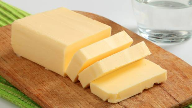 Butter is a source of the kind of saturated fat that creates blocked heart arteries.