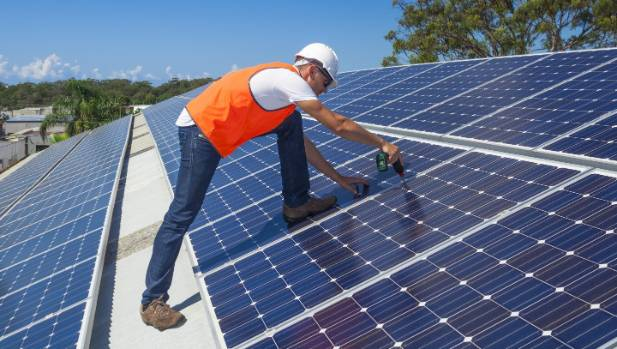 A 30-point disaster plan has proposed all new homes in Wellington be built with solar panels and emergency water tanks.