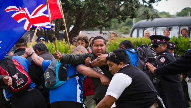 Protests have greeted NZ's prime minister at visits to Waitangi in the recent past.