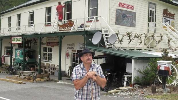 Lester Rowntree bought the Otira Hotel in 2014.