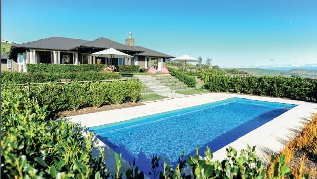 This home in Endsleigh Drive, Havelock North sold in December, as demand for million-dollar properties in Hawke's Bay grows.