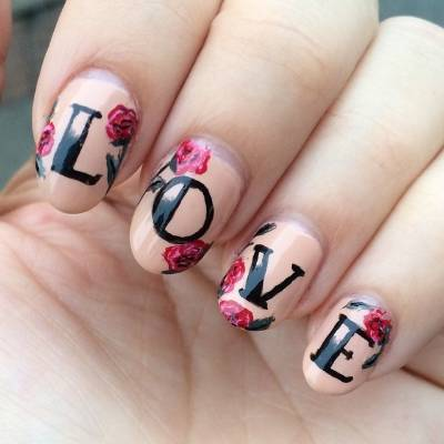Manicure Gallery Romantic Valentines Day Nail Art Ideas Stuff Co Nz