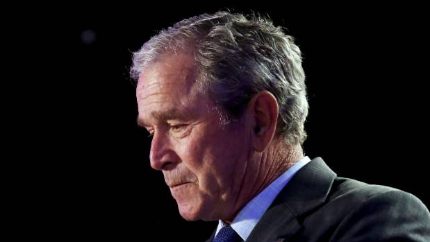Luckily for former US President George W Bush he managed to dodge both shoes that was thrown by the disgruntled Iraqi ...