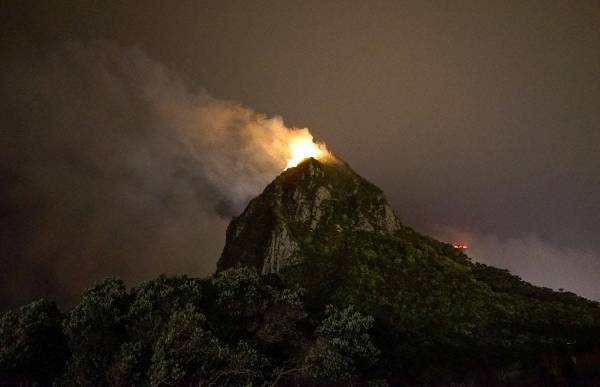 Fireworks may have been the cause of suspicious fire at for Landscaping rocks new plymouth