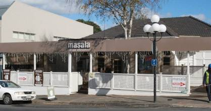 Masala restaurant in Birkenhead, part of an Auckland chain of Indian restaurants.