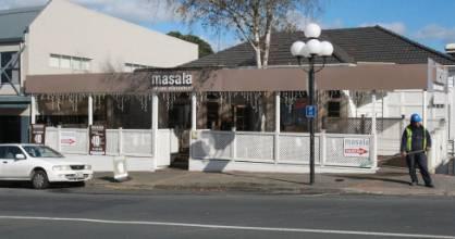A Masala restaurant in Birkenhead, part of an Auckland chain of Indian restaurants.