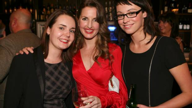 Rachel Morton, left, pictured with Amanda Gillies and Tova O'Brien