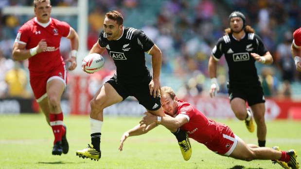 Joe Webber sparked New Zealand's come back in the opener against Canada.