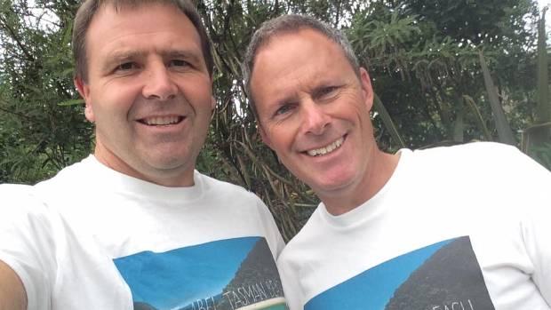 Campaigners Duane Major and Adam Gard'ner.