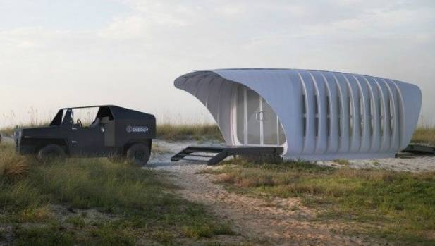 Blueprint for 3d printed pod home stuff this 3 d printed pod home designed by skidmore owings merrill malvernweather Choice Image