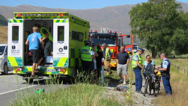 A 77-year-old United States tourist said he failed to stop at a crash near Queenstown, where he clipped a man and a ...