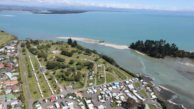 The Tahuna Beach Kiwi Holiday Park in 2013 provided emergency accommodation for between 80-90 people for an average stay ...