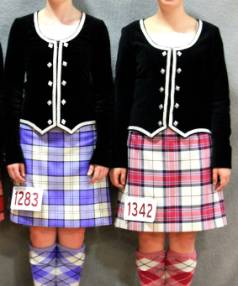 Highland dancing sisters Sarah and Hannah de Bruin are among a team of 50 New Zealand dancers who will perform at the ...