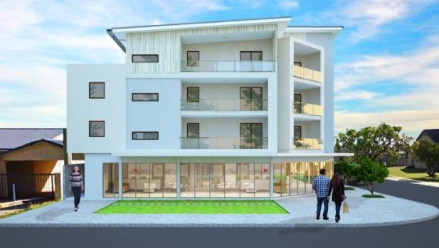 Modular apartment building goes up in a couple of days | Stuff.co.nz