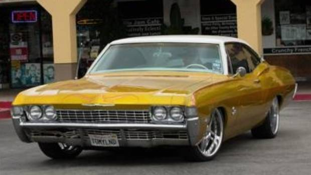 Celebrities And Their Classic Custom Cars Stuffconz - Classic chevy cars