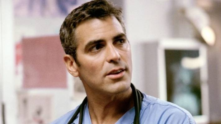 Celebrity Fashion: George Clooney first came to fame as Douglas Ross in ER.
