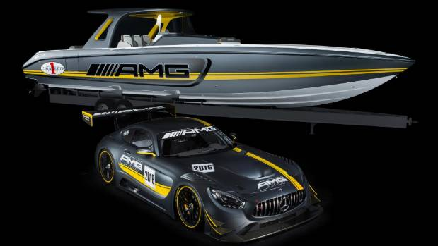 The Mercedes Amg Inspired Sd Gt3 Racing Boat Race Car