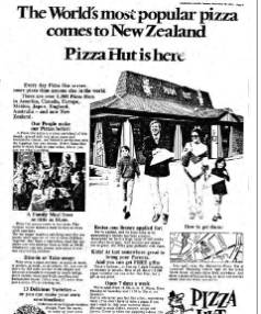 pestel of pizza hut in new zealand market Other then pizza hut, there are various market leading brands such as kfc, a&w, longjohn silver's and taco bell are also a part of yum brands inc's portfolio started in 1958, pizza hut is categorized as one of the largest casual dining restaurant chain, having more than 13000 branches across 92 countries.