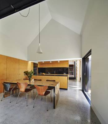 Much of the house is open plan, with a easy flow between the different living spaces.
