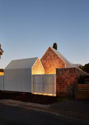 Although the property is fenced, gates are usually left open by day and neighbours are encouraged to cut through the ...