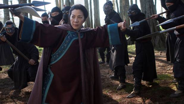 Michelle Yeoh returns to the role of Shu Lien in Crouching Tiger, Hidden Dragon: Sword of Destiny.