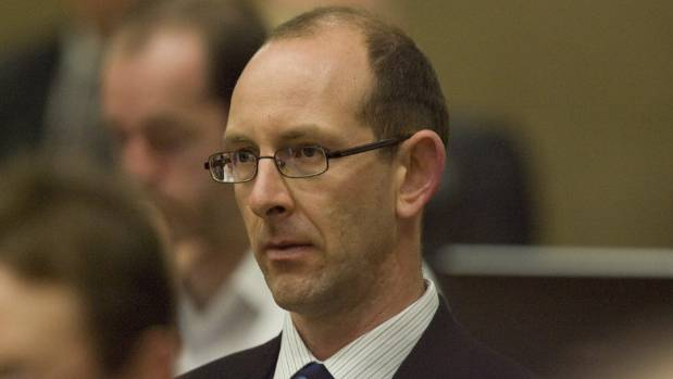 David Bain at the start of the jury's first full day of deliberation of his re-trial for the murder of his family.