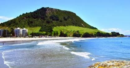 Mt Maunganui beach is New Zealand's best beach in the eyes of TripAdvisor.