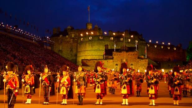 The royal edinburgh military tattoo expansion plans for for Scotland military tattoo