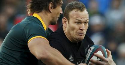 James Broadhurst made his test debut for the All Blacks in their 2015 Rugby Championship test against South Africa in ...