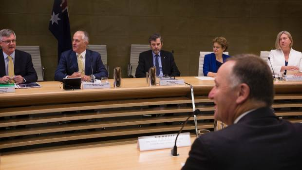 New Zealand Prime Minister John Key held talks with his Australian counterpart Malcolm Turnbull on Friday.