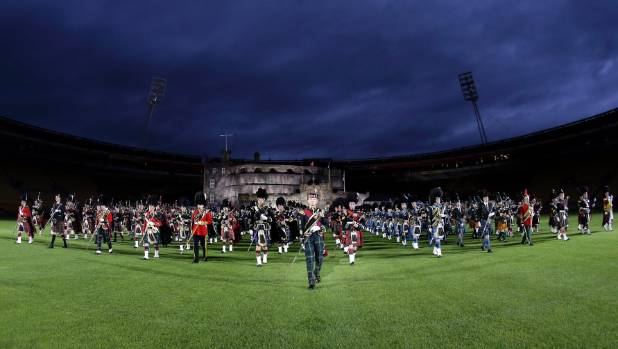 The Edinburgh Tattoo was a huge hit, with more than 80,000 people attending over three nights.