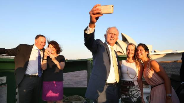 Prime Minister John Key and Australian counterpart Malcolm Turnbull announced a special pathway to citizenship for ...