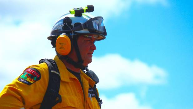 Jarron McInnes is also a rural firefighter.