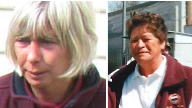 Leigh Cleveland, left, and Peggy Noble died in the Ashburton Work and Income shootings on September 1, 2014.