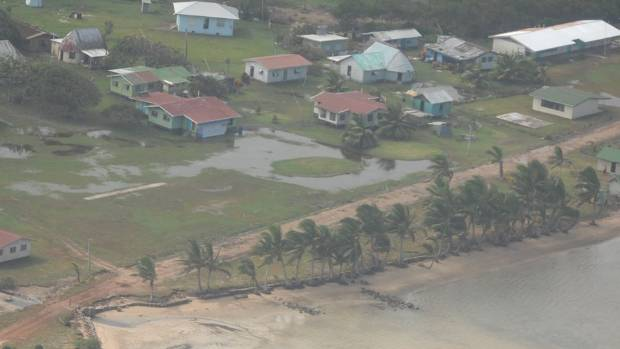 Many parts of Fiji are still under water after Cycle Winston.