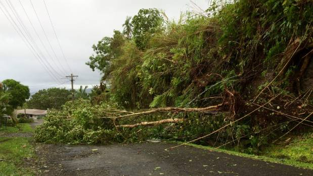 The Fijian Government has worked quickly and effectively to clear debris and dangerous downed power lines in main centres.