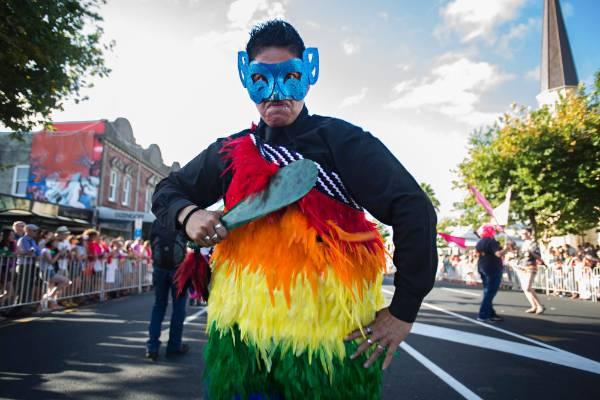 22022016 News Photo: CHRIS MCKEEN/FAIRFAX NZThe Pride parade was held along Ponsonby Road celebrating the amendment ...