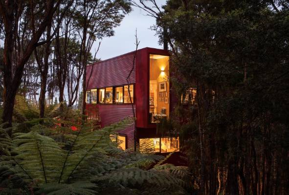 Red House In The Bush Works On All Levels Stuff Co Nz