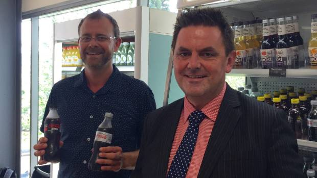 Nelson Marlborough District Health Board principal dental officer Dr Rob Beaglehole, left, and chief executive Chris ...