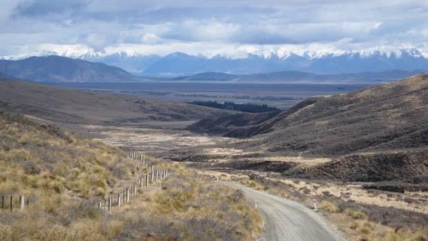 The Mackenzie Pass in Mackenzie Country gets its name from legendary sheep rustler James Mackenzie. Photo
