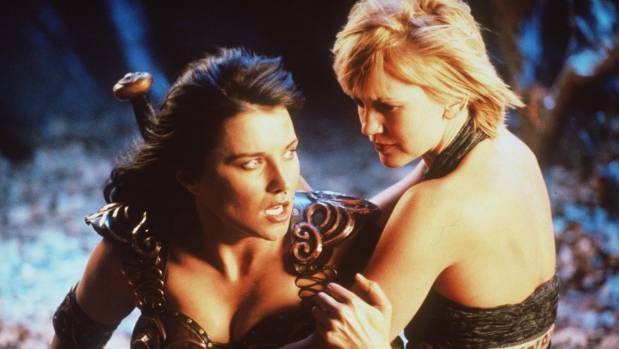 Xena and Gabrielle's love story was reported to be a focus of the reboot.